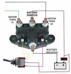 12vdc 6 Post Winch Solenoid