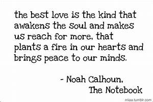 Quotes about love ️- the notebook | Quotes | Pinterest