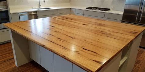 popular woods for a butcher block kitchen island