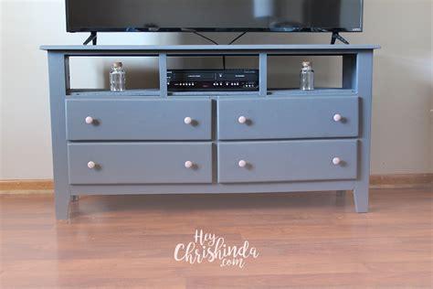 dresser with tv mount diy dresser turned tv stand heychrishinda