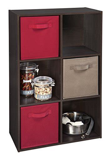 Espresso Closet Organizer by Closetmaid 78815 Cubeicals 6 Cube Organizer Espresso