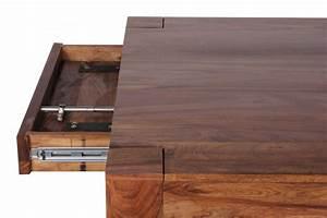 Tisch Ausziehbar Holz : design esstisch massiv 160 240 cm ausziehbar sheesham massivholz ~ Frokenaadalensverden.com Haus und Dekorationen