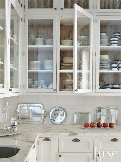 bubble glass kitchen cabinet doors seeded glass door fronts transitional kitchen luxe