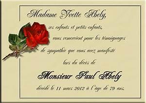 Avis De Deces Puy De Dome : cartes de deuil remerciements pompes fun bres ~ Dailycaller-alerts.com Idées de Décoration