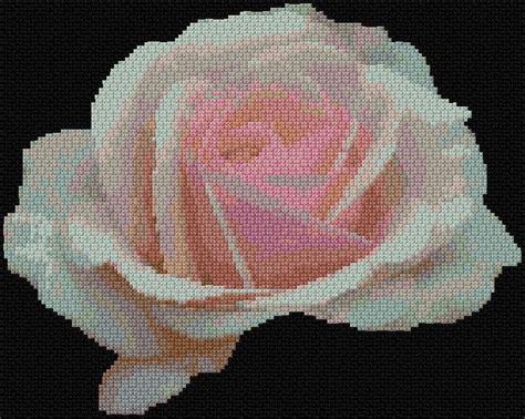 Cross Stitch Rose, Cross Stitch