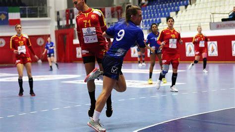 Handball {m} der ball selbst. Handball-Azzurre: 4 Testspiele mit 4 Brixnerinnen ...