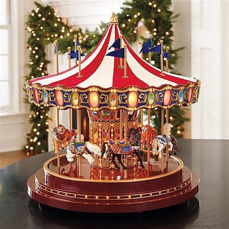 world s fair anniversary carousel christmas decorations