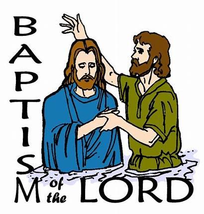 Baptism Lord Clip Diocesan Sign Guarantee Satisfaction