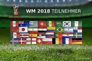 Wm 2018 Flaggen : fussball wm 2018 teilnehmer 002 hintergrundbild ~ Kayakingforconservation.com Haus und Dekorationen