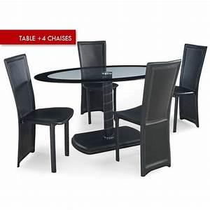 Table Avec 4 Chaises : table a manger et chaises ~ Teatrodelosmanantiales.com Idées de Décoration