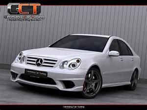 Mercedes Benz W203 Tuning : mercedes c klasse w203 komplettvers spoiler set body kit ~ Jslefanu.com Haus und Dekorationen