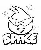 Angry Coloring Birds Pages Space Bird Printable Topcoloringpages Questions Books sketch template
