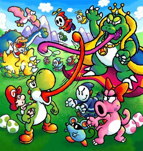 Awesome Art Yoshis Island Of Dreams Poisonmushroomorg