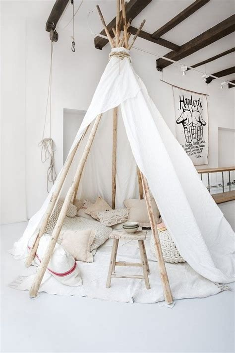 tente tipi fille tente tipi d 233 coration imagination petit grand cocon cachette espace d 233 tente d 233 co