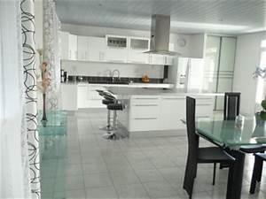 decoration cuisine noir et blanc With modele cuisine noir et blanc