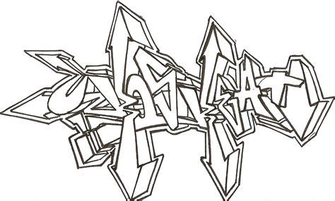de graffitis para colorear de grafitis para pintar imagui