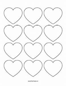 printable heart template free new calendar template site With small heart template to print