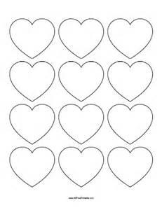 Free Printable Heart Template