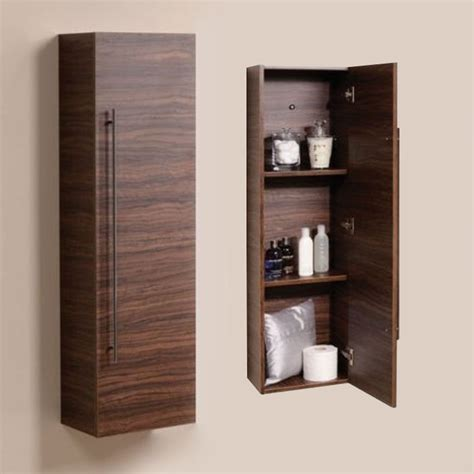 wall mounted tall cabinet bathroom furniture wall mounted tall walnut cabinet