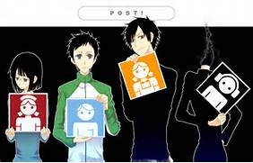 DRRR characters avatar...Durarara Izaya And Mikado