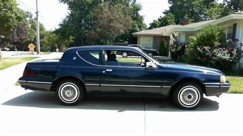 Purchase Used 1988 Mercury Cougar Ls Sedan 2-door 5.0l In