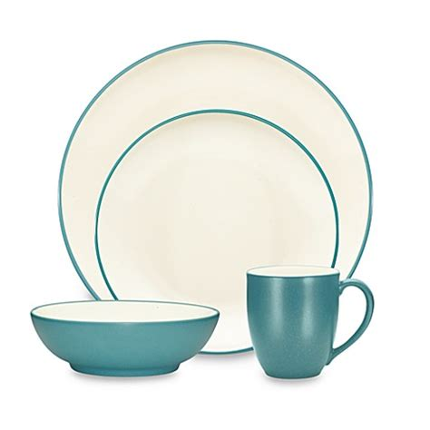 cuisine turquoise noritake colorwave coupe dinnerware collection in