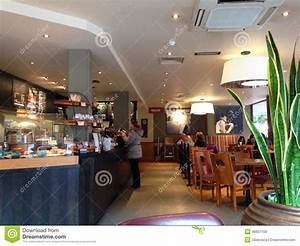 Coffee House Interior. Editorial Stock Image - Image: 46627109