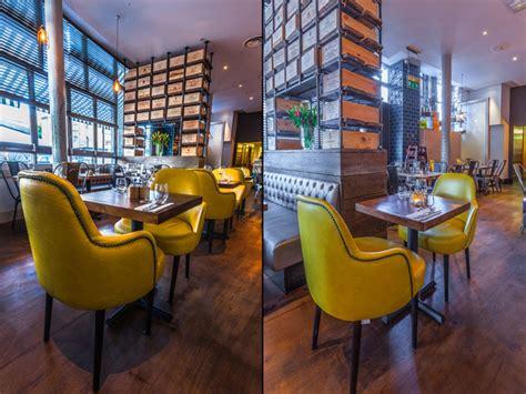 melange restaurant  inarch london uk