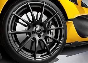 How The McLaren P1 Puts Its Power Down: Bespoke Pirelli