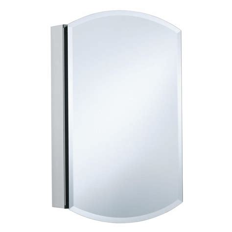kohler archer 20 in w x 31 in h single door mirrored