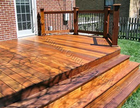 deck images custom made decks using cedar composite materials brazilian hardwood or pressure treated wood