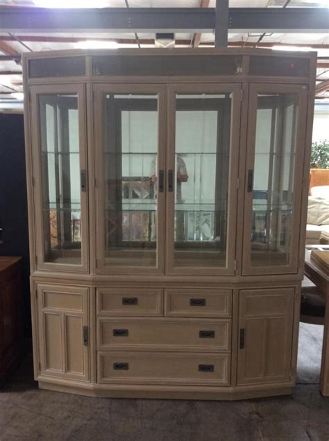 china cabinet with lights beveled glass lighted china cabinet