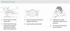 Face Mask Cover Guidelines For Homemade Cloth Masks