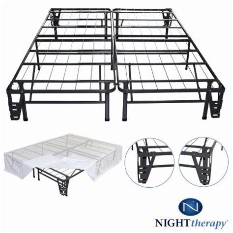 night therapy platform metal bed frame foundation set