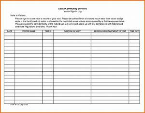 group sign in sheet template - sign out sheet template word
