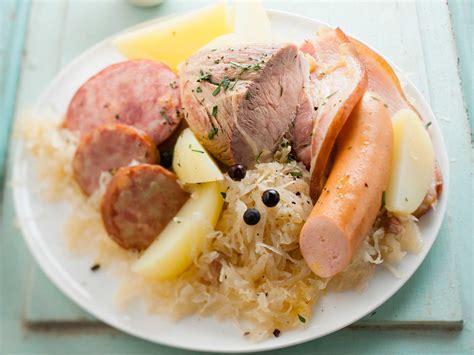alsace cuisine traditionnelle choucroute de la mer alsace