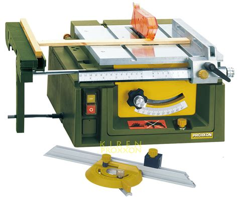 Proxxon 37070 Mini Table Saw Fet Wood Metals Plastics 85mm