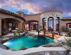 Luxurious, And, Elegant, Traditional, Mansion, Interior, Design