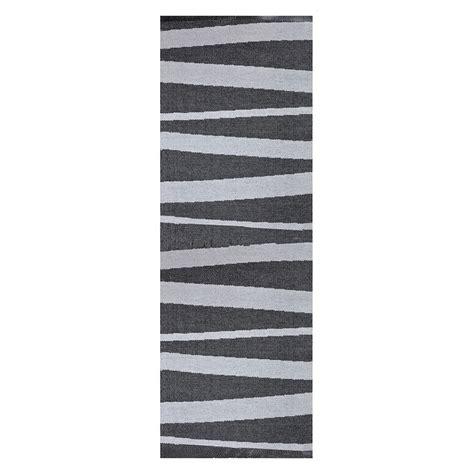 tapis de couloir gris et noir sofie sjostrom design are 70x300