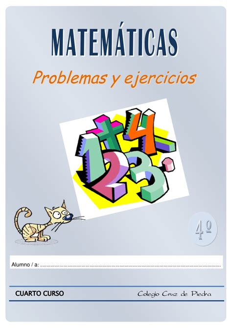 Matemáticas De 4º De Primaria Problemas Y Ejercicios