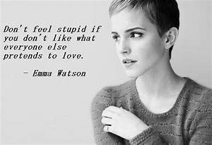 Everything Mixe... Emma Watson Beauty Quotes