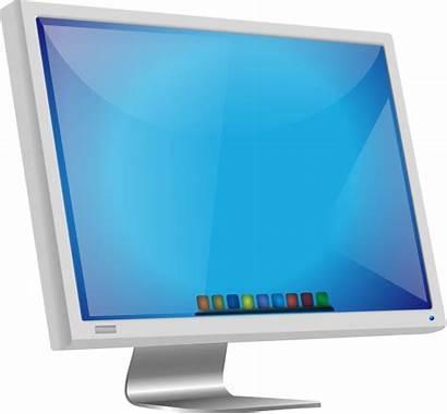 Monitor Computer Clipart Transparent Mac Clip Domain
