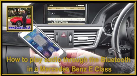 Mercedes e350 bluetooth iphone 🎶 music 🎵 activation step by step. How to play audio through the Bluetooth in a Mercedes Benz E Class - YouTube