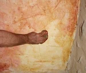 Realiser un enduit cire for Enlever peinture a la chaux