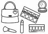 Coloring Makeup Pages Printable Glitter Cosmetic Getdrawings Getcolorings sketch template