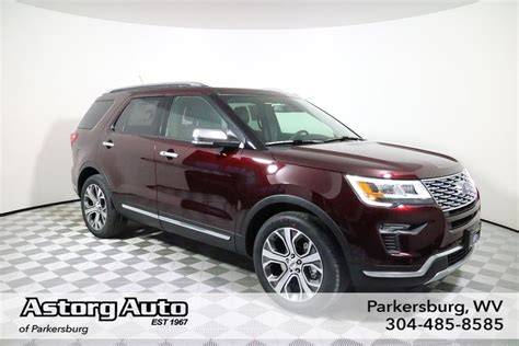 New 2018 Ford Explorer Platinum Sport Utility In
