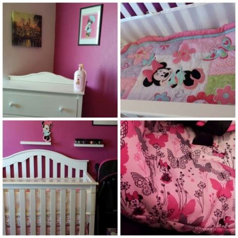 girl  disney baby nursery update
