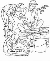 Camping Coloring Pages Camp Printable Sheets Fun Boys Scout Print Father Fathers Go Summer Boy Preschool Scouts Cooking Para Colorir sketch template