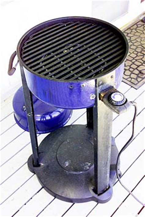 Patio Caddie Electric Grill by Honolulu Bulletin Features