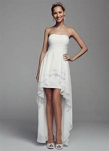 db studio strapless lace and chiffon high low wedding dress With db studio wedding dresses